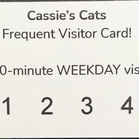 Weekday Frequent Visitor Card